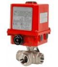 780 XS L - 3 way stainless steel ball valve UMA3,5