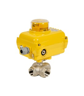 781 XS T - 3 way stainless steel ball valve SA05