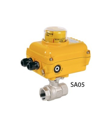 715 XS - 2 piece stainless steel ball valve SA05