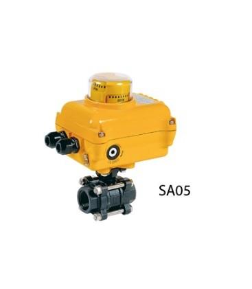 736 XS - 3 piece carbon steel ball valve SA05