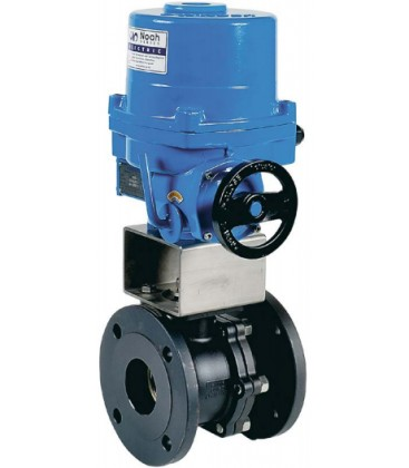 762 - Split body carbon steel flanged ball valve NA09 X