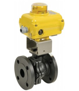 752 - Split body carbon steel flanged ball valve SA05