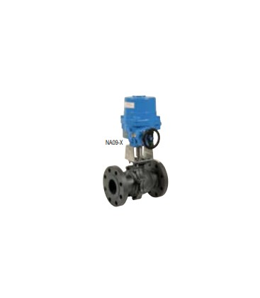 768 - Split body carbon steel flanged ball valve NA09