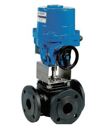 784 T - 3 way carbon steel flanged ball valve NA09 X