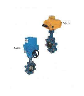 1135 - Cast iron butterfly valve SA05 NA09