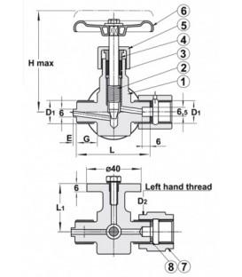490615 - Pressure Gauge Valve