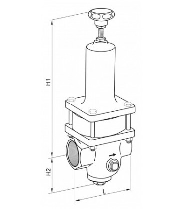 471023 - Presure Reducing Valve
