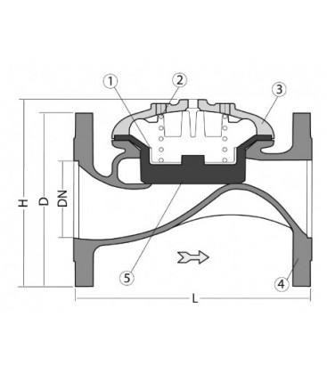 940002-940001 - Hydraulic Diaphragm Control Valve