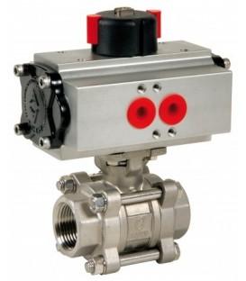 746 XS - 3 piece stainless steel ball valve