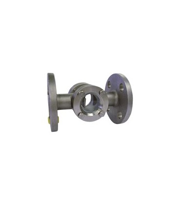 2245 - SKB 2 - Stainless steel - With flapper - Flanged PN16