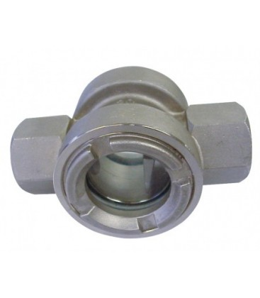 2238 - SKT 9 NPT - Stainless steel - With flapper