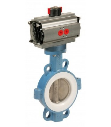 1145 -  Ductile iron butterfly valve