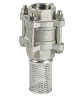 383 - Foot valve - With F316 strainer basket
