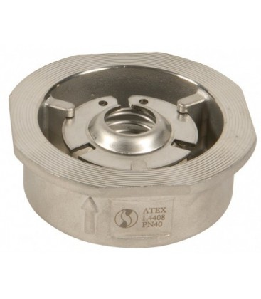 386 - Stainless steel - Between flanges PN10/16/25/40 & ANSI 150
