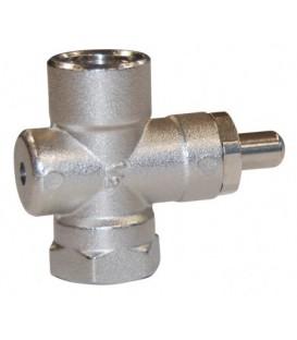 Push-button valve