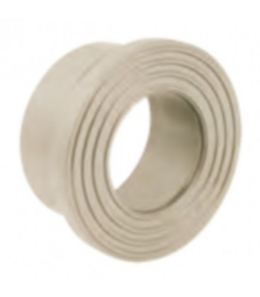 Collar for striated face flange