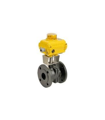 507 - Cast iron flanged ball valve type SA05
