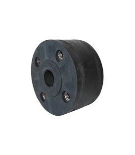 Rubber-metal pipe connector