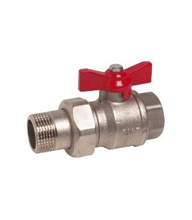 Union fitting valve
