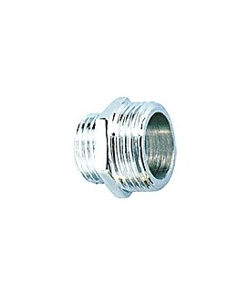 Chrome plated threaded fittings