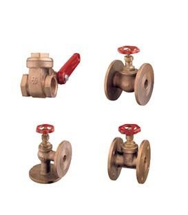 Gate and globe valves